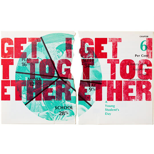Get It Together - Letterpress by Emily Duong