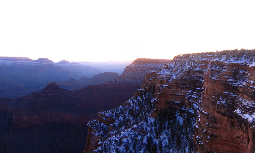 Preview of the Grand Canyon At Sunrise