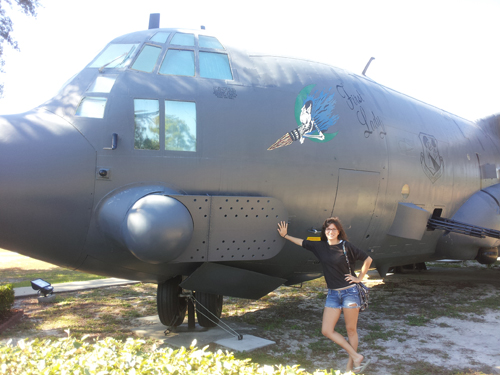 Our First Lady - The 1st C-130 Ever Built