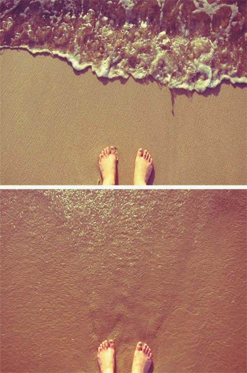 My feet in Cabo, Mexico